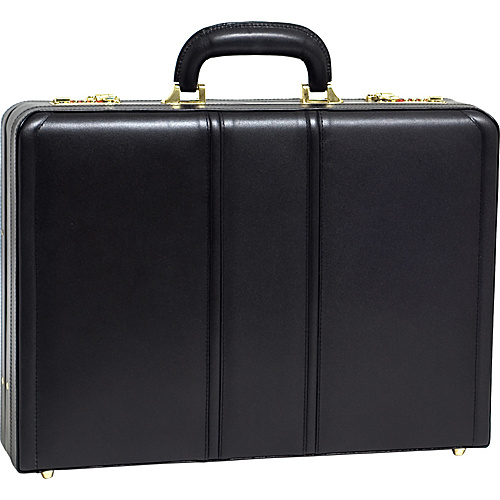McKlein USA Coughlin Leather Expandable Attache Case -