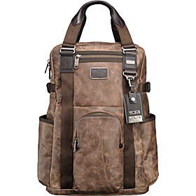 Alpha Bravo Lejeune Backpack Tote Alpha Brown