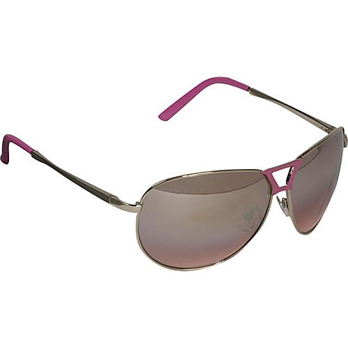 Rocawear Sunwear Aviator Sunglasses - Silver/Pink