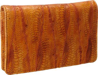 Latico Leathers Ginger Orange - Latico Leathers Women's Wallets
