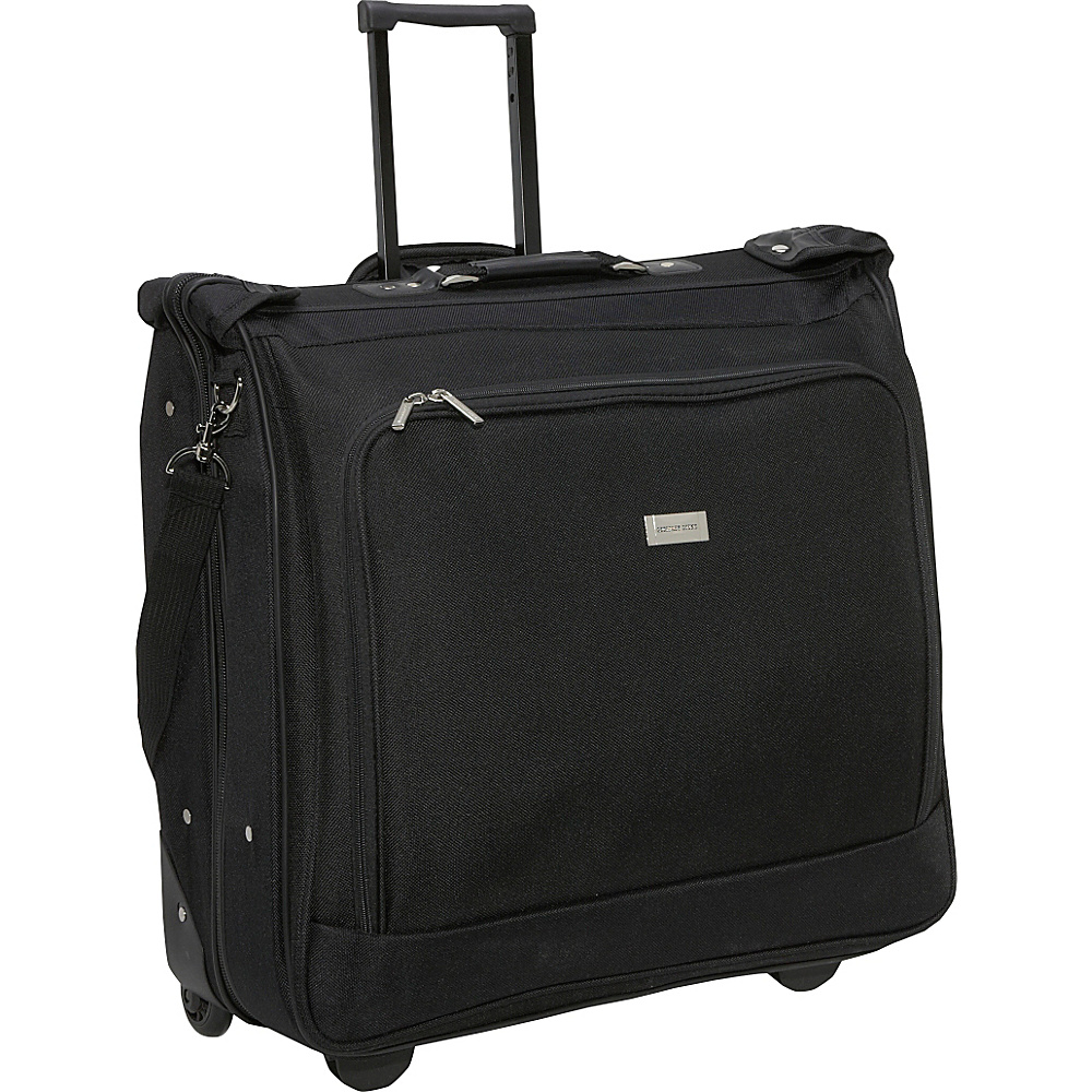Geoffrey Beene Luggage Rolling Garment Carrier - Black
