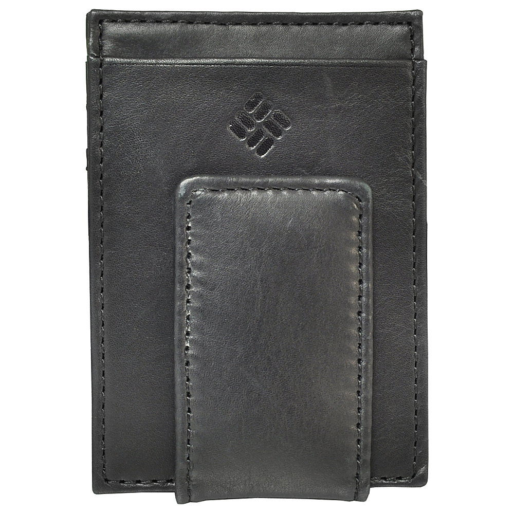 Columbia Magnetic Card Case - Black - Work Bags & Briefcases, Men's Wallets
