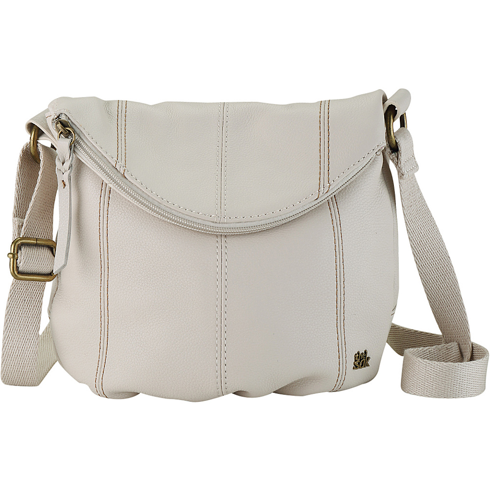 ea7c7c6e6b0f ... UPC 711640472002 product image for The Sak Deena Flap Crossbody Bag  Stone - The Sak Leather ...