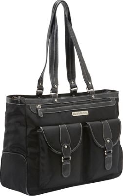 Clark & Mayfield Marquam Laptop Handbag 18.4 inch Black - Clark & Mayfield Women's Business Bags