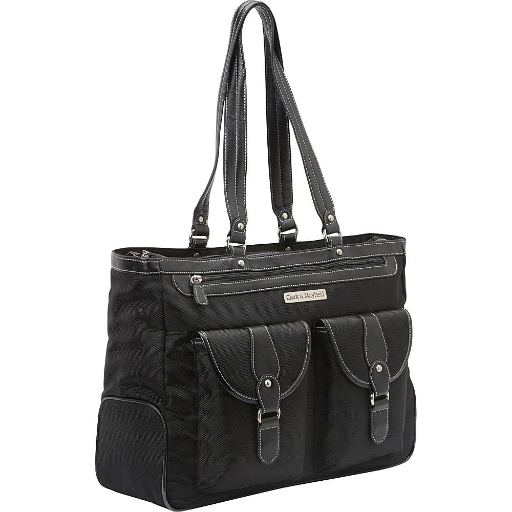 "Clark & Mayfield Marquam Laptop Handbag 18.4"" Black - Clark & Mayfield Women's Business Bags"