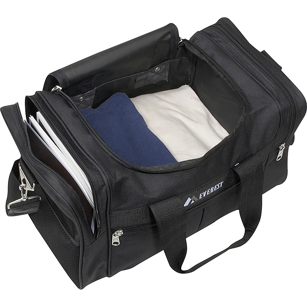 "Everest 17.5"" Travel Gear Bag - Black"