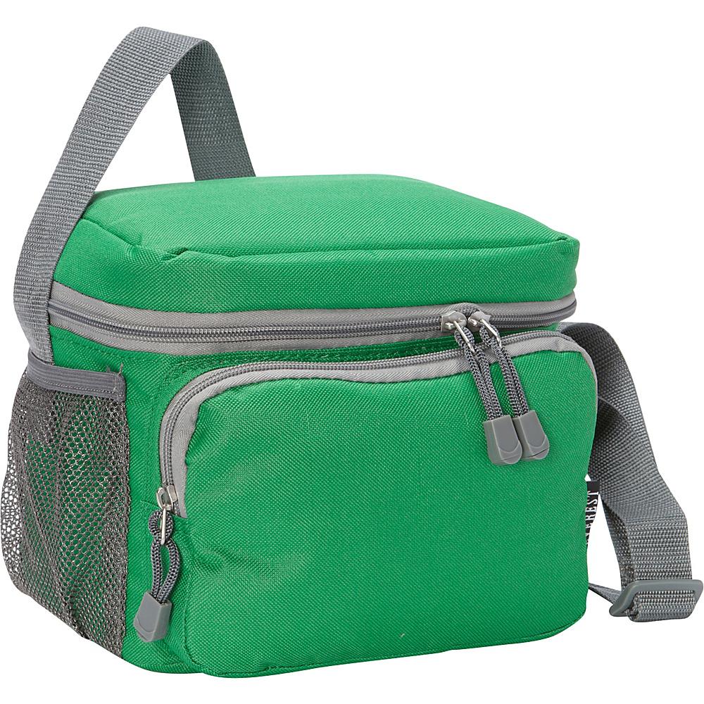 Everest Cooler/Lunch Bag Emerald Green/Grey - Everest Travel Coolers - Travel Accessories, Travel Coolers