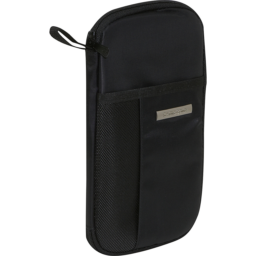 Samsonite Zip Close Travel Wallet Black - Samsonite Travel Wallets - Travel Accessories, Travel Wallets