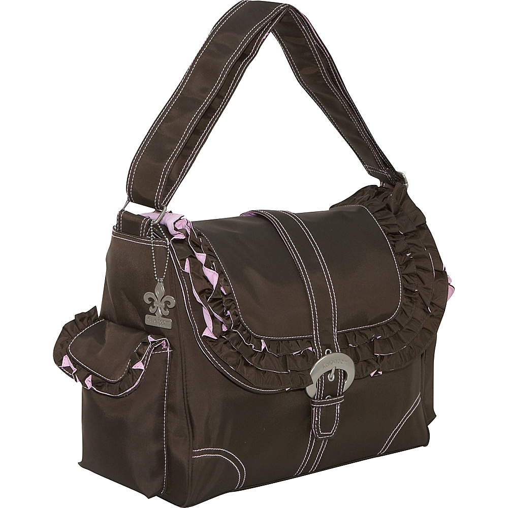 Kalencom Miss Prissy Buckle Bag - Chocolate/Pink - Handbags, Diaper Bags & Accessories