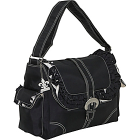 Miss Prissy Buckle Bag Black/Cream