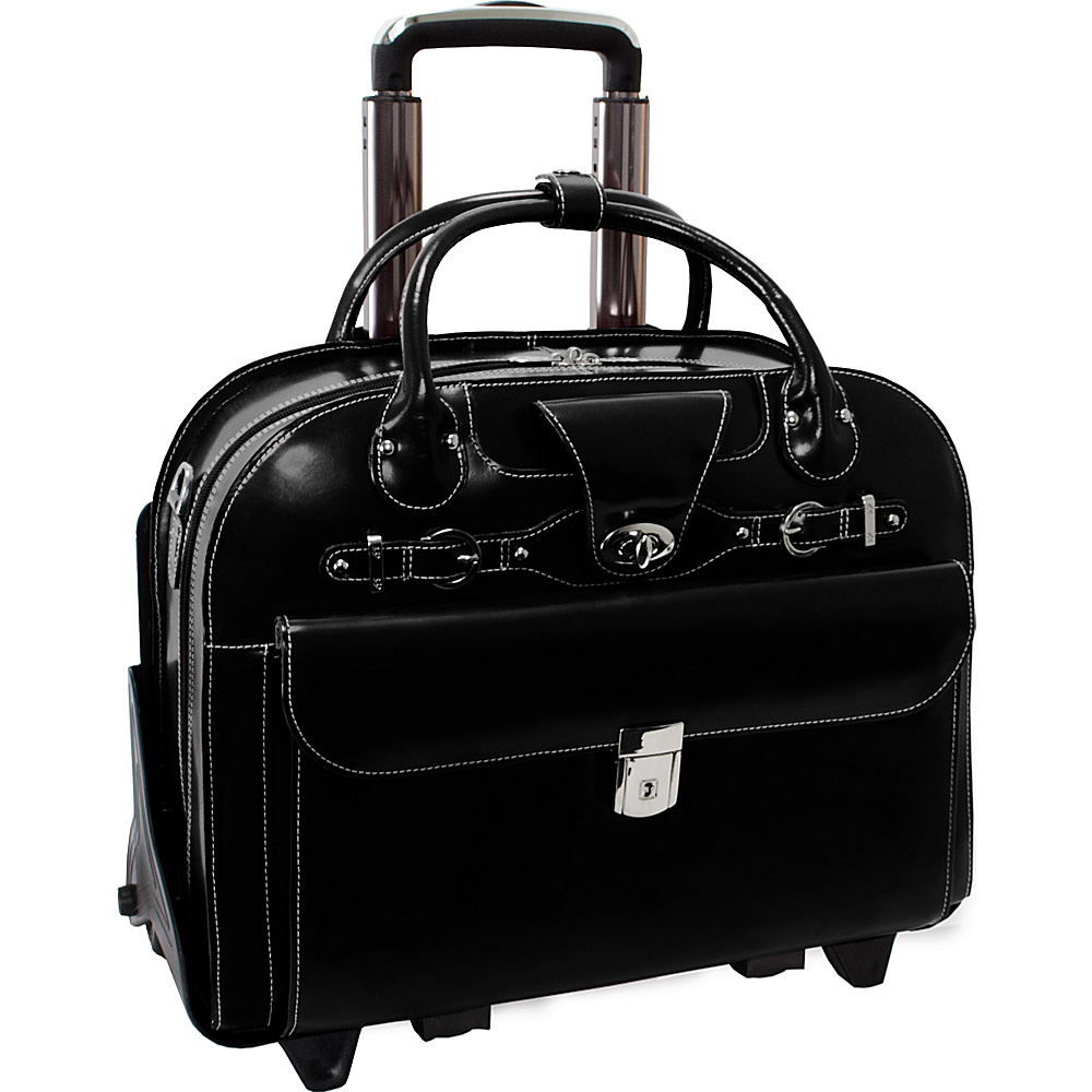 McKlein USA Roseville - Fly-Through Checkpoint-Friendly - Work Bags & Briefcases, Wheeled Business Cases