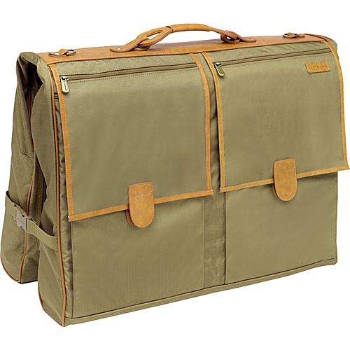 Hartmann Luggage Packcloth Deluxe Garment Bag Khaki