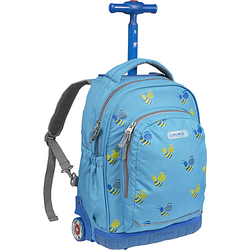 J World Candy Rolling Kids Backpack (Kids ages 3-7)