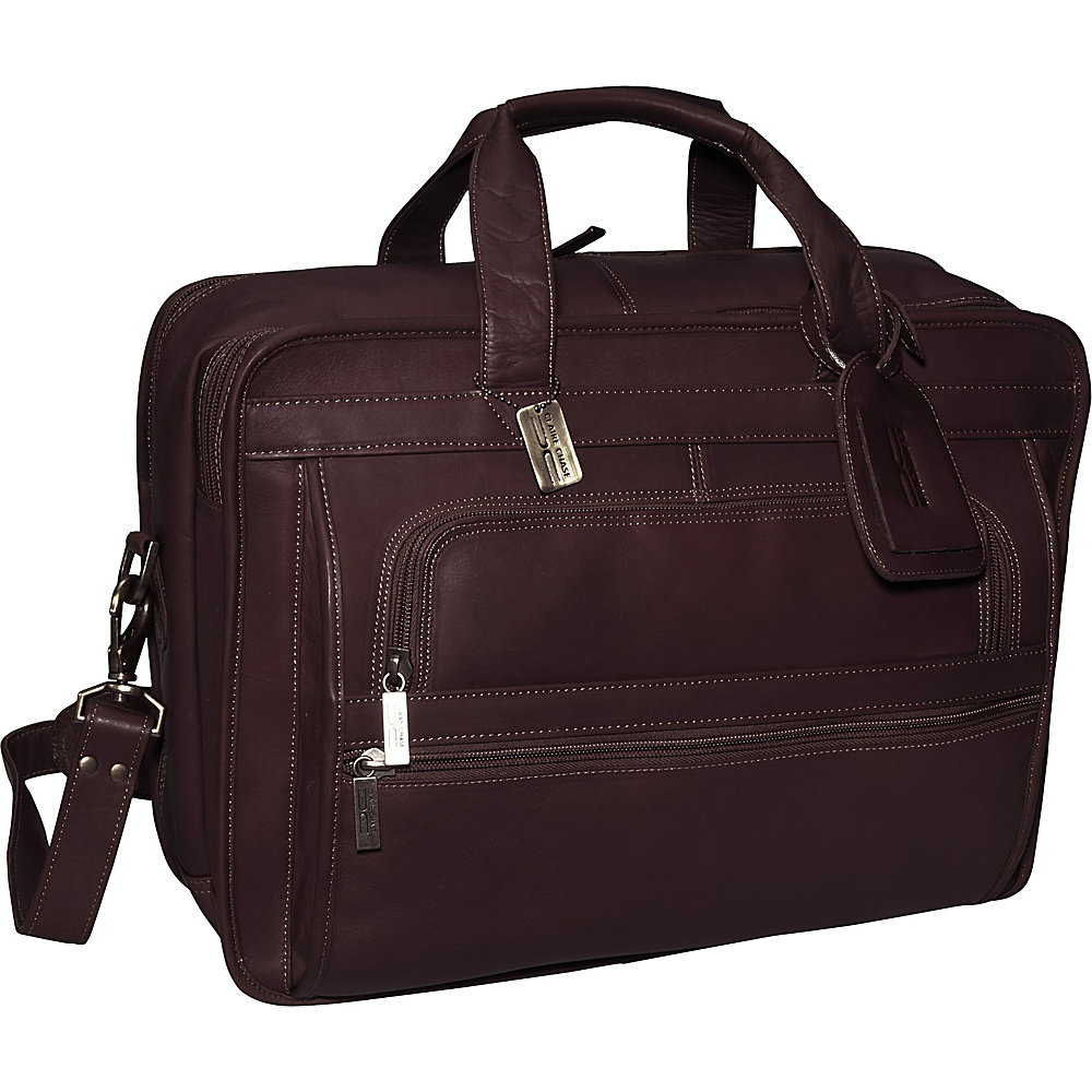 ClaireChase Guardian Laptop Brief - Cafe - Work Bags & Briefcases, Non-Wheeled Business Cases