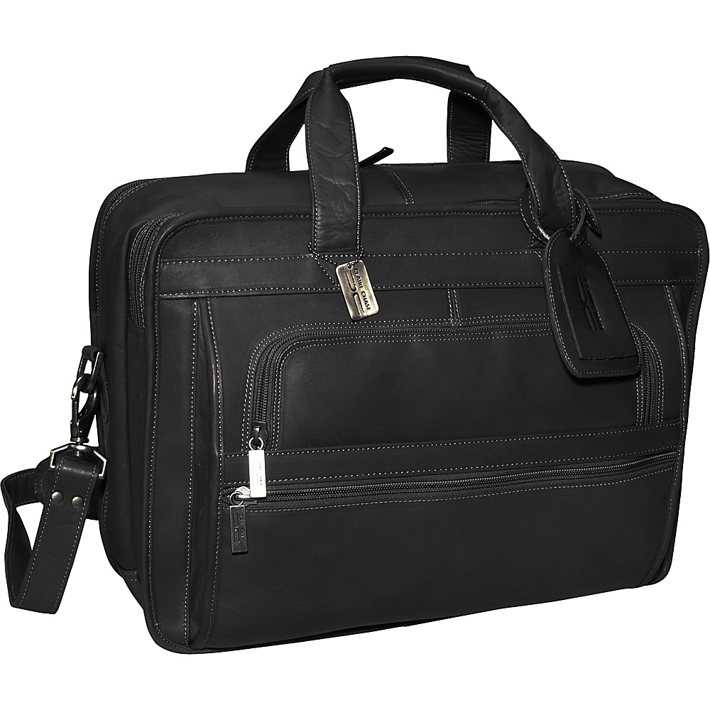 ClaireChase Guardian Laptop Brief - Black - Work Bags & Briefcases, Non-Wheeled Business Cases