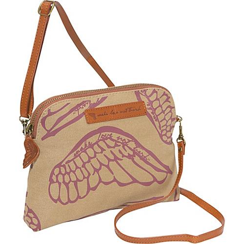 Make Love Not Trash Cosmetic Crossbody Bag