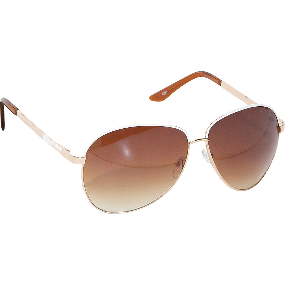 SW Global Unisex Aviator Gold - SW Global Sunglasses - Fashion Accessories, Sunglasses