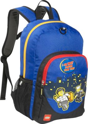 LEGO Police City Nights Classic Backpack Blue - LEGO Everyday Backpacks