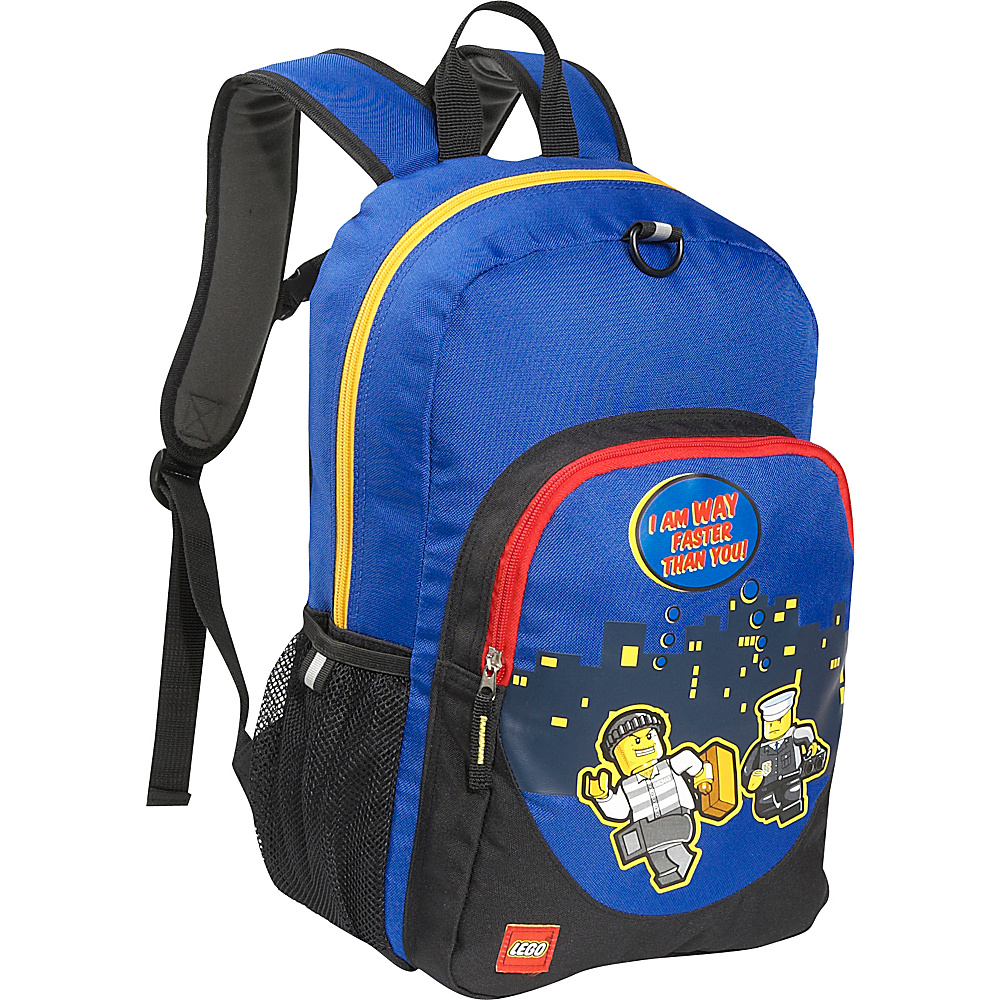 LEGO Police City Nights Classic Backpack Blue LEGO Everyday Backpacks