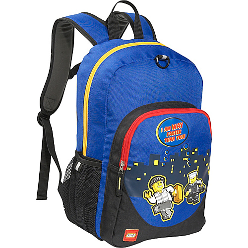 LEGO Police City Nights Classic Backpack Blue - LEGO Kids' Backpacks