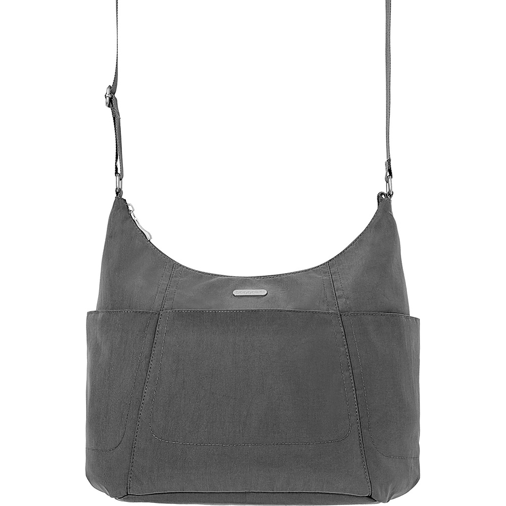 baggallini Hobo Tote Charcoal - baggallini Fabric Handbags