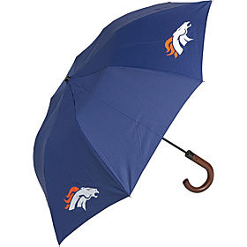 Denver Broncos Woody Umbrella Navy