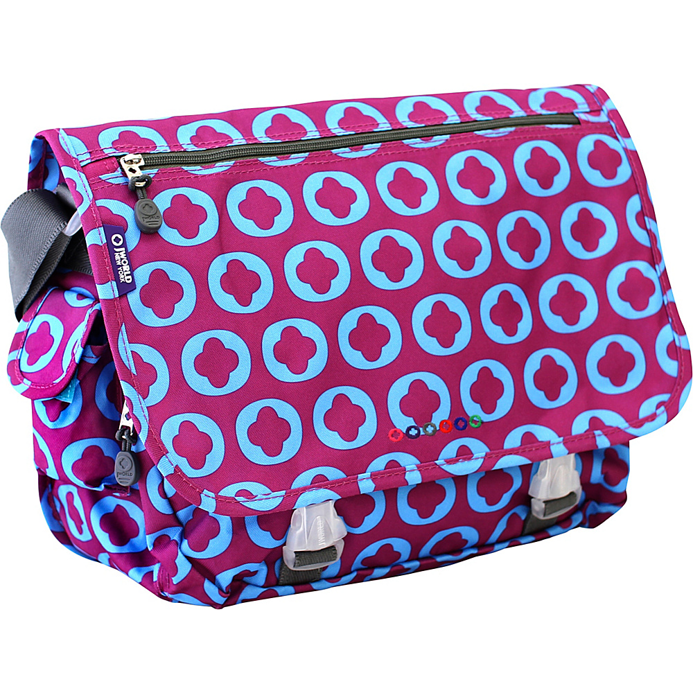 J World New York Terry Messenger JLOGO - J World New York Messenger Bags - Work Bags & Briefcases, Messenger Bags
