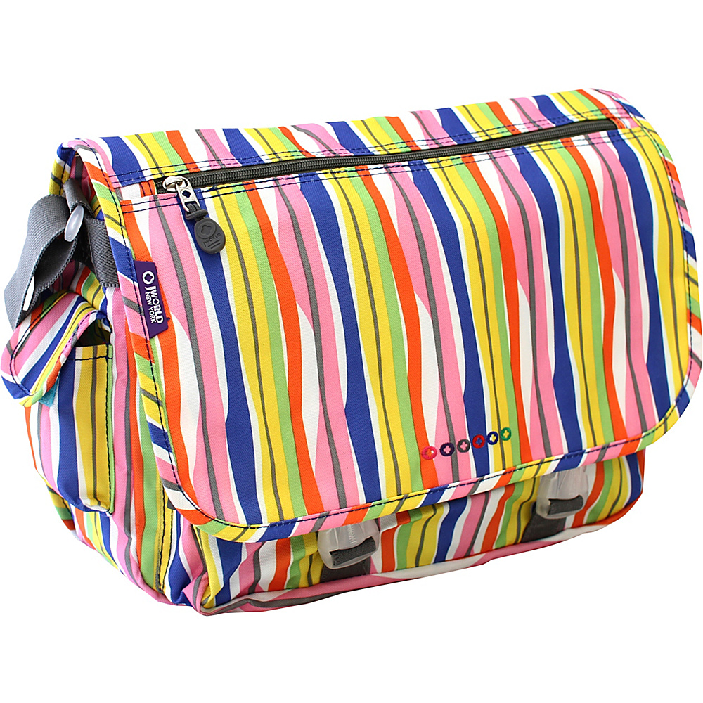 J World New York Terry Messenger WAVERY - J World New York Messenger Bags - Work Bags & Briefcases, Messenger Bags