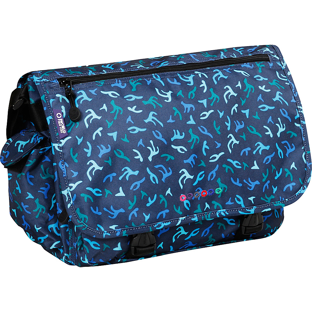 J World New York Terry Messenger Reef - J World New York Messenger Bags - Work Bags & Briefcases, Messenger Bags