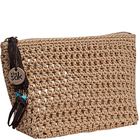 Classic Accessory Medium Cosmetic Bamboo with gold