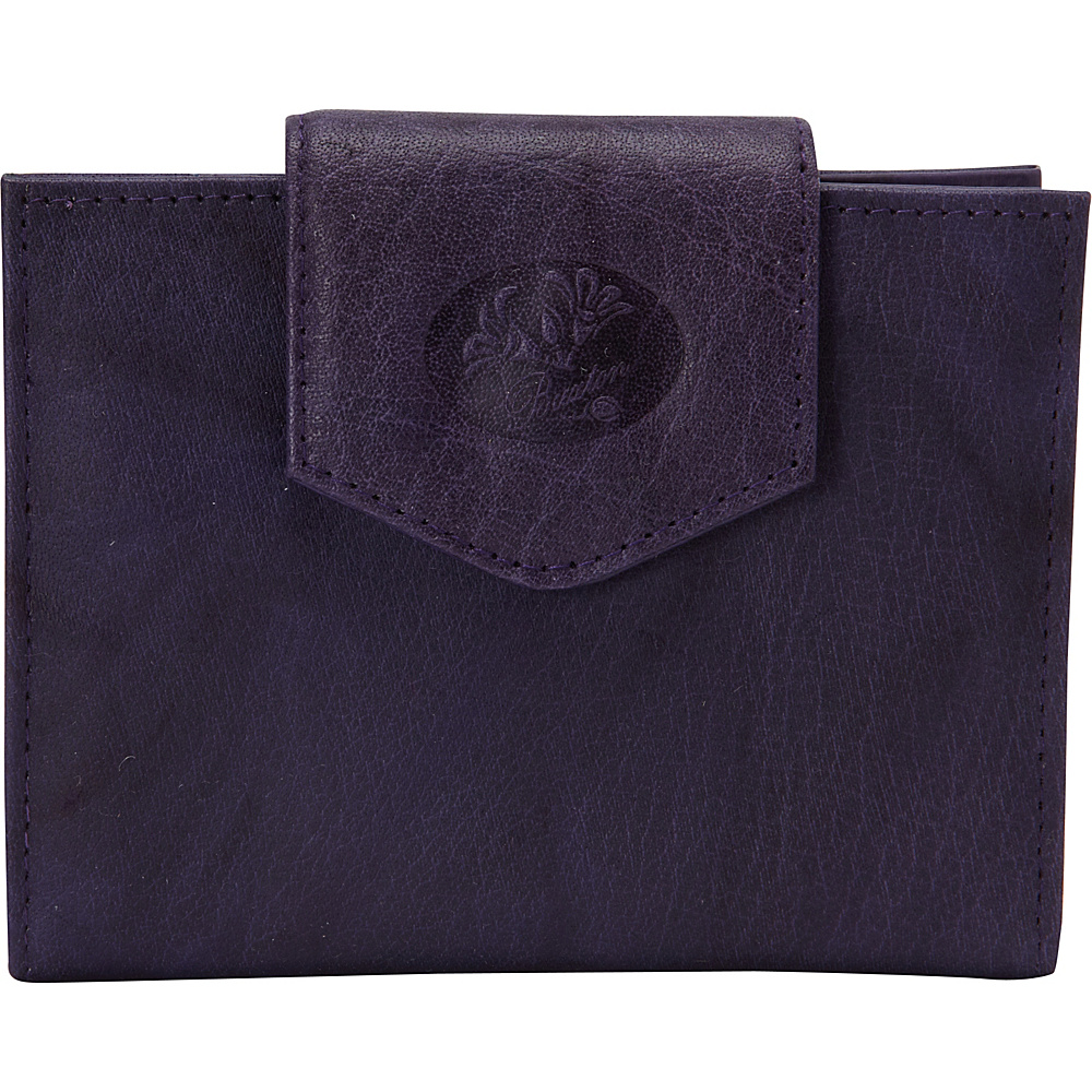 Buxton Heiress Ladies Cardex Mulberry - Buxton Womens Wallets - Women's SLG, Women's Wallets