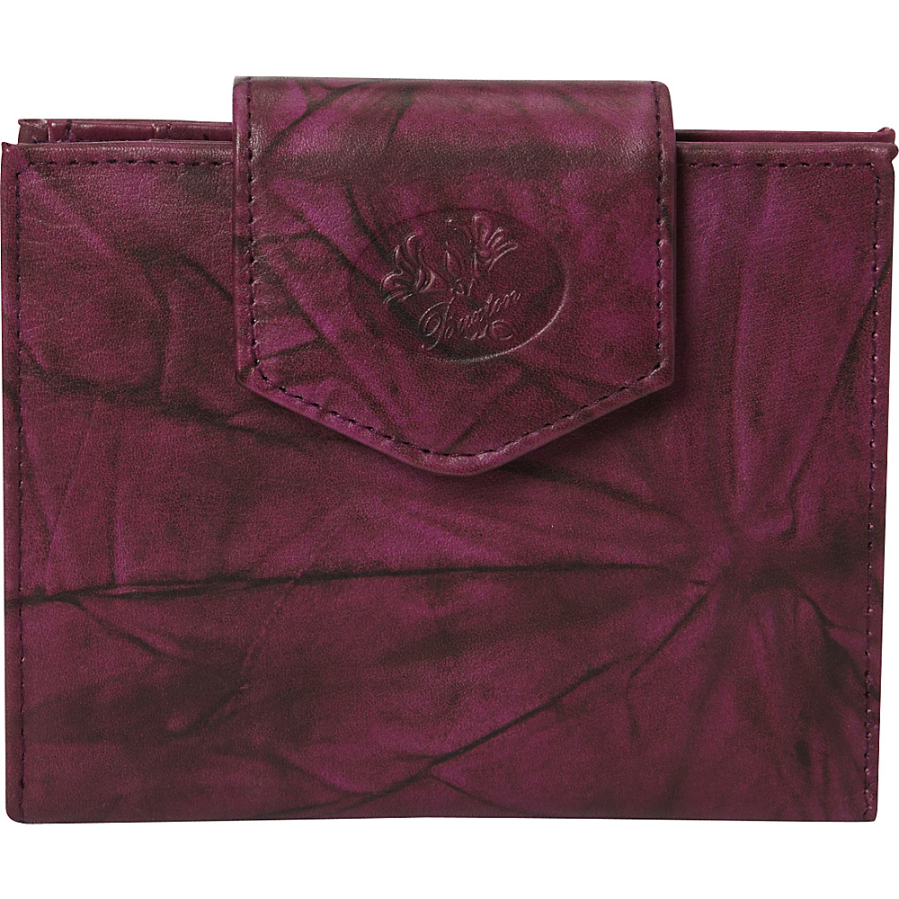 Buxton Heiress Ladies Cardex Magenta Purple - Buxton Womens Wallets - Women's SLG, Women's Wallets
