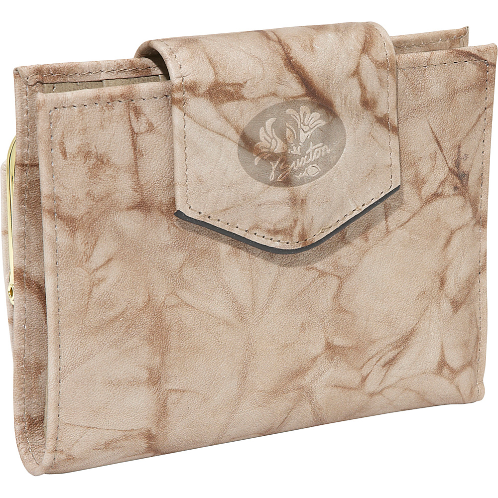 Buxton Heiress Ladies Cardex Taupe - Buxton Womens Wallets - Women's SLG, Women's Wallets