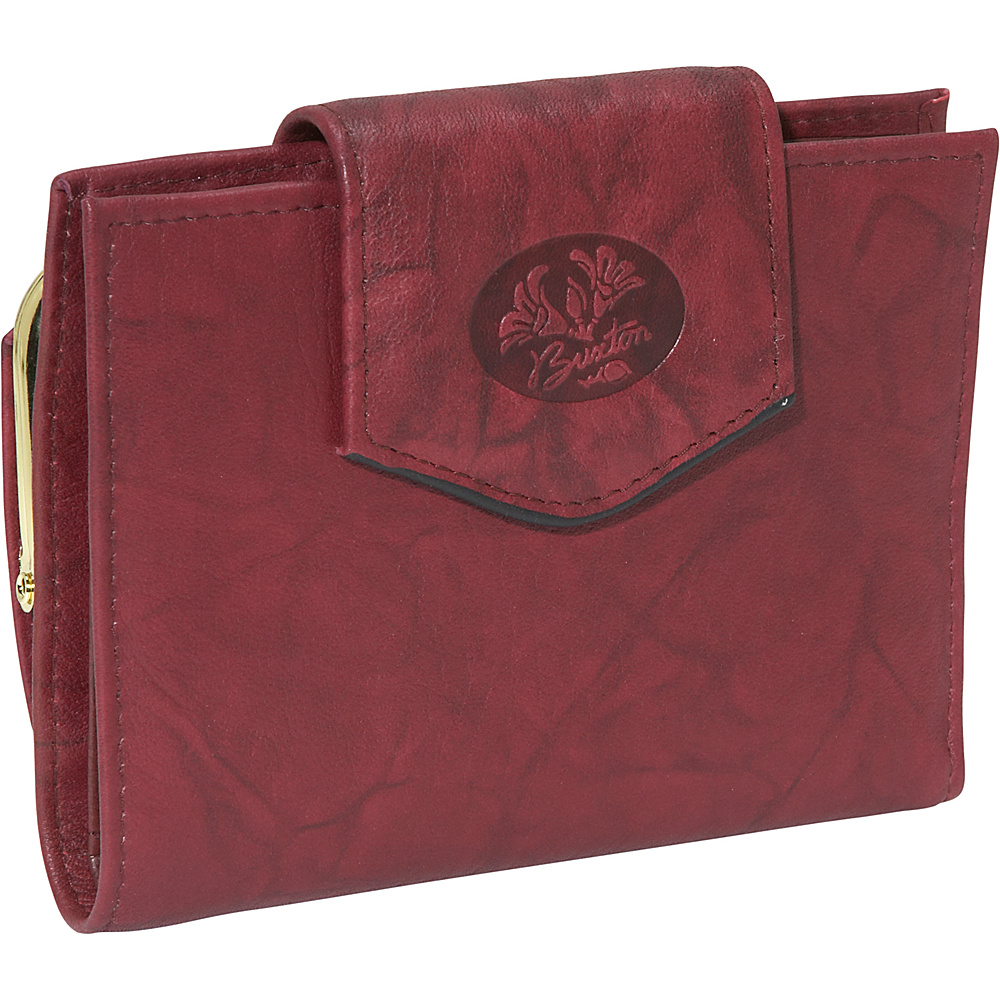 Buxton Heiress Ladies Cardex - Burgundy - Women's SLG, Women's Wallets