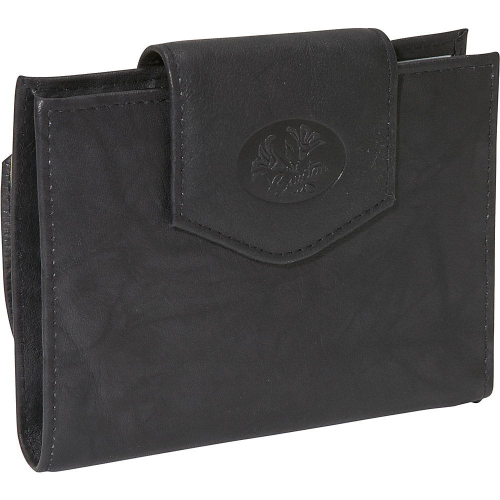 Buxton Heiress Ladies Cardex - Black - Women's SLG, Women's Wallets