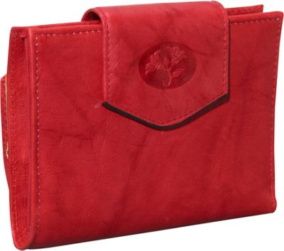 Buxton Heiress Ladies Cardex Red - Buxton Women's Wallets