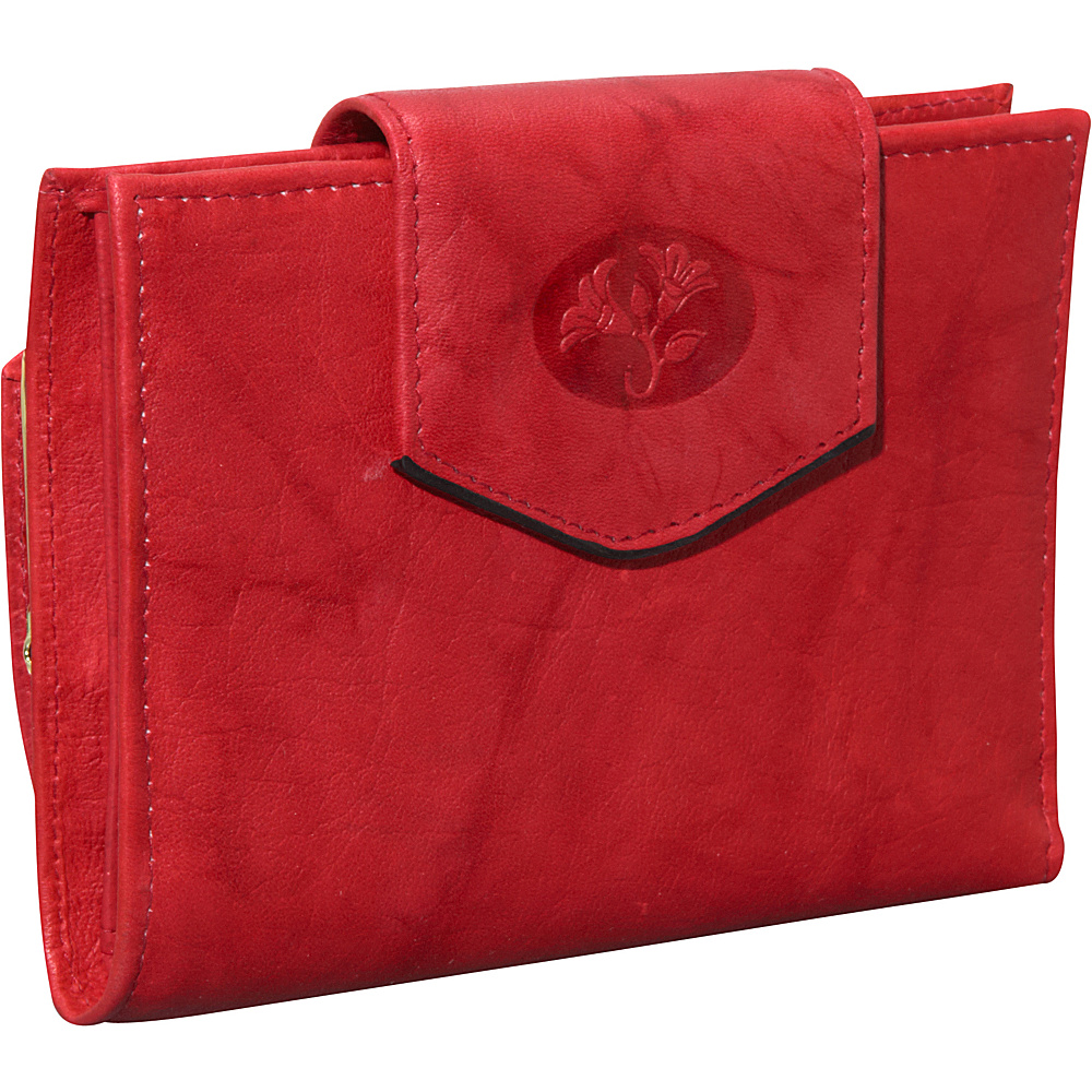 Buxton Heiress Ladies Cardex Red - Buxton Womens Wallets - Women's SLG, Women's Wallets