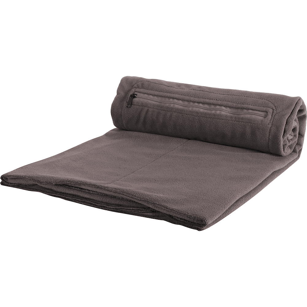 Eagle Creek Cat Nap Blanket - Charcoal