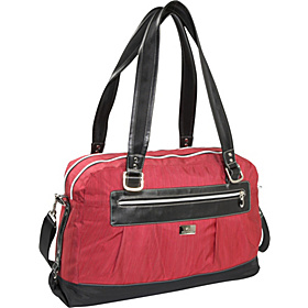 Emerson Travel Tote Rio Red Stratus