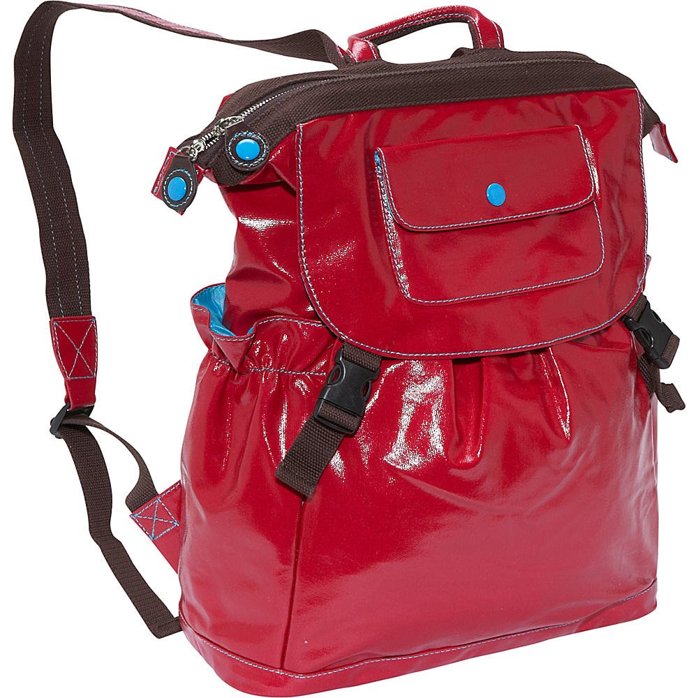 Urban Junket Kathy Laptop Backpack Scarlet