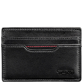 Delta Slim Card Case ID Black