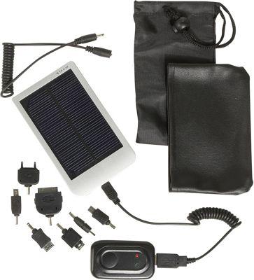 Bellino G-Tech Portable Solar Charger - Silver