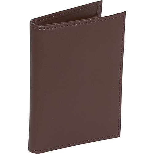 Royce Leather Card Case with Multi Windows - Coco/Coco