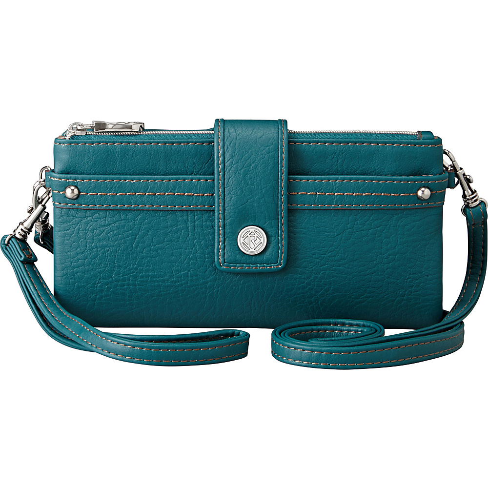 Relic Vicky Checkbook - Teal - Women's SLG, Women's Wallets