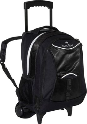 Backpack with Front & Side Pockets Turquoise / Black - Everest School ...