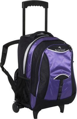 Traveler Lightweight Rolling School Backpack