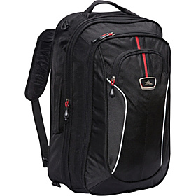 AT6 Carry On Travel Bag with Backpack Straps Black