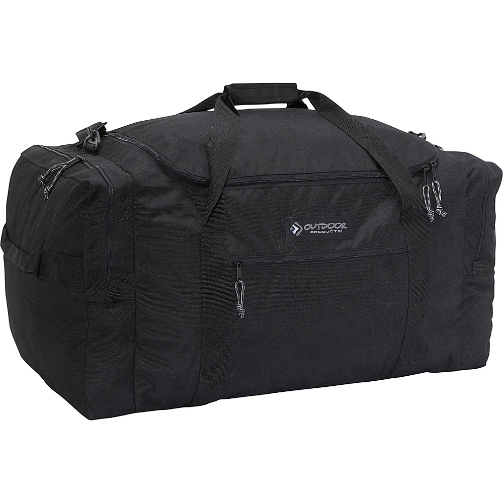 Outdoor Products Mountain Large 30 Duffle Black Outdoor Products Outdoor Duffels