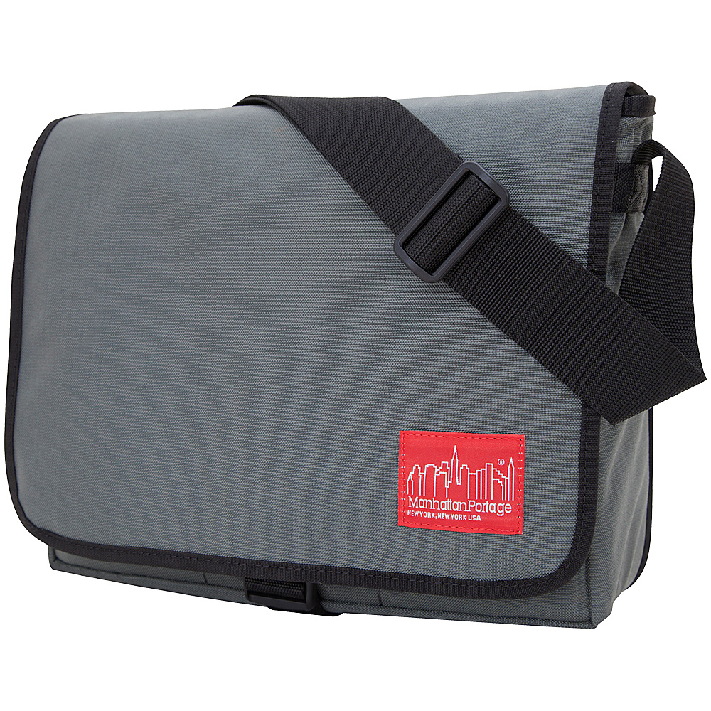 Manhattan Portage Deluxe Computer Bag (13) - Gray - Work Bags & Briefcases, Messenger Bags