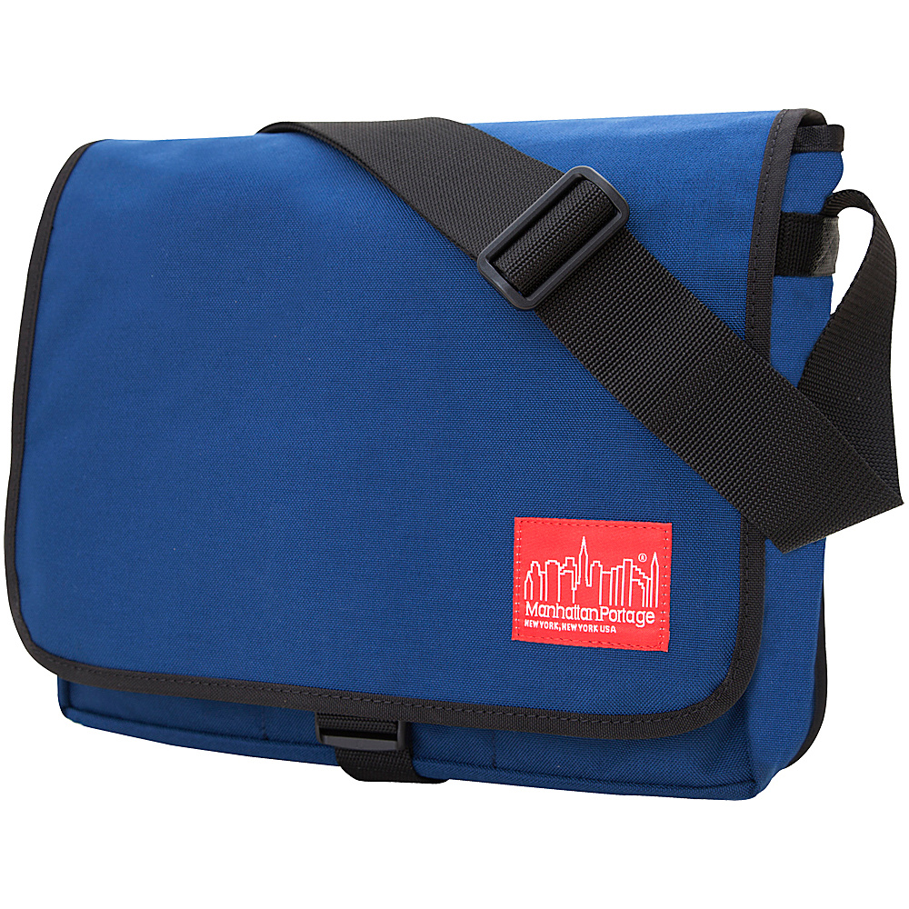 Manhattan Portage Deluxe Computer Bag (13) - Navy - Work Bags & Briefcases, Messenger Bags